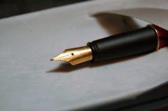 Penna di Parker Fotografie Stock Libere da Diritti
