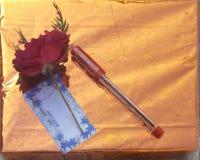 Penna di Rosa Immagini Stock