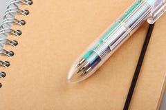 Penna di sfera Mixed Fotografia Stock Libera da Diritti