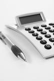 Penna e calcolatore immagini stock libere da diritti