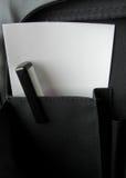 Penna e carta Fotografia Stock
