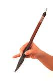 Penna e mano Immagine Stock