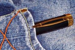 Penna e tralicco Fotografia Stock Libera da Diritti