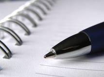penna för anmärkning för bok 2 Fotografering för Bildbyråer