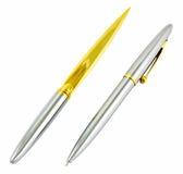 penna för bokstavsöppnare Arkivfoton