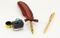 Penna inc Fotografia Stock