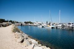 Penna reale dell'yacht club e della barca di Perth Immagini Stock Libere da Diritti