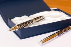 Penna - regalo Immagini Stock