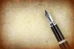 Penna stilografica Fotografia Stock Libera da Diritti