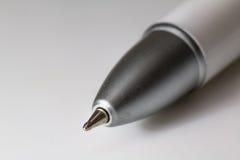 Penna su fondo bianco Immagine Stock