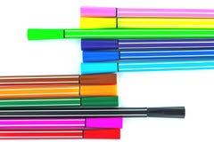 Penna variopinta Immagine Stock