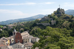 Pennabilli, Montefeltro. (Urbino, Marches, Italy), view of the old town Royalty Free Stock Photos