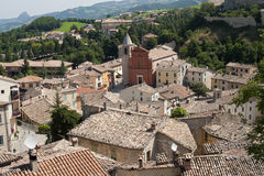 Pennabilli, Montefeltro (Marches, Italy) Stock Photo