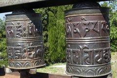 Pennabilli, two tibetan bells Stock Images