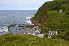Pennan Harbour Royalty Free Stock Images