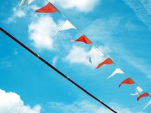 Pennant in the wind Stock Image