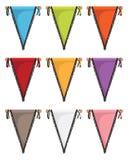 pennants Foto de Stock