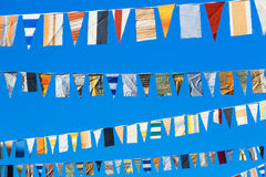 Pennants Royalty Free Stock Photo