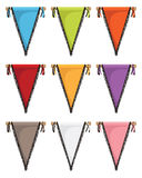 Pennants Stock Photo