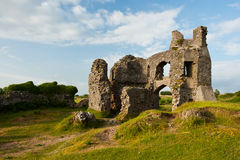 Pennard Castle Stock Photo