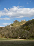 Pennard Castle on the Gower Peninsular Royalty Free Stock Images
