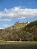 Pennard-Schloss auf Gower Peninsular Lizenzfreie Stockbilder