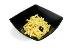 Penne al oglio Royalty Free Stock Images