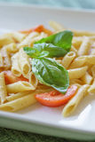 Penne al Pomodoro Fresco Royalty Free Stock Photography