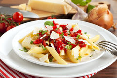 Penne all'Arrabbiata Royalty Free Stock Image