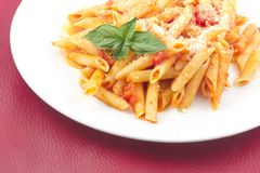 Penne alla Vodka Stock Image