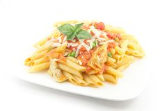 Penne Alla Vodka Stock Photos