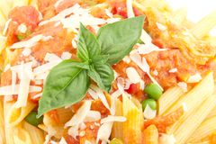 Penne Alla Vodka Royalty Free Stock Images