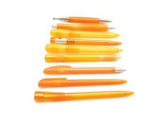 Penne arancioni Immagine Stock