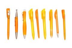 Penne arancioni sopra Immagine Stock