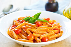 Penne Arrabiata Royalty Free Stock Image