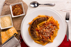 Penne Arribiatta Royalty Free Stock Image
