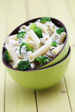 Penne with broccoli Royalty Free Stock Image