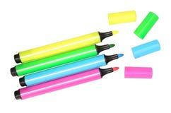 Penne del feltro Immagine Stock