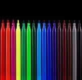 Penne del feltro Immagine Stock Libera da Diritti