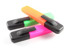 Penne del Highlighter fotografia stock