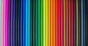 Penne di colore Immagine Stock