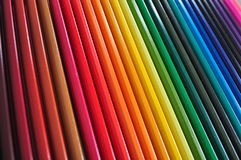 Penne di colore Fotografia Stock Libera da Diritti