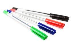 Penne di colore immagini stock libere da diritti