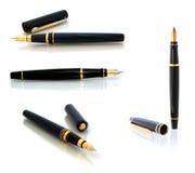 Penne di fontana Fotografie Stock