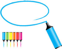 Penne di indicatore Fotografie Stock