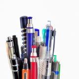 Penne di sfera fotografia stock