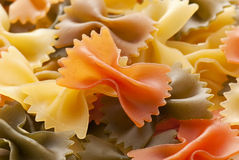 Penne Farfalle Royalty Free Stock Photo