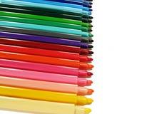 Penne felt-tip colorate Immagine Stock Libera da Diritti