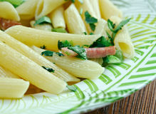 Penne Florentine Stock Photo