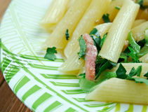 Penne Florentine Royalty Free Stock Photography